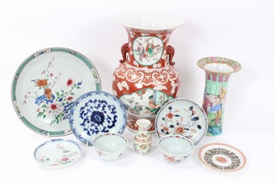 Lot 16 - Group of 18th and 19th century Chinese ceramics