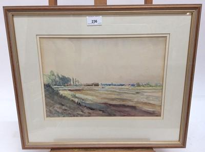 Lot 155 - Edmund Van Someren (1875-1963) watercolour, Landscape