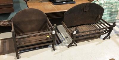 Lot 63 - Two fire baskets