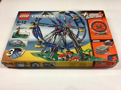 Lot 12 - Lego Creator 4957 Ferris Wheel, with instructions, Boxed