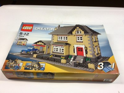 Lot 13 - Lego Creator Town House 3 in 1, with instructions, Boxed