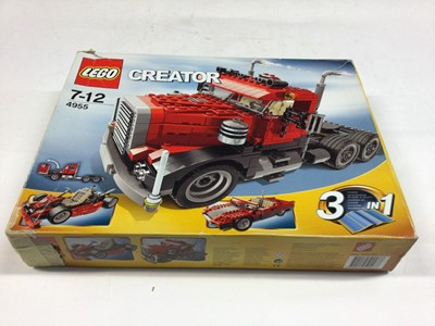 Lot 14 - Lego Creator 5767 Cool Cruiser 3 in 1, 4955 Truck 3 in 1, 31037 Mini Car 3 in 1, with instructions, Boxed