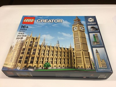Lot 19 - Lego Creator Expert 10253 Houses of Parliament including Big Ben tower, with instructions, Boxed