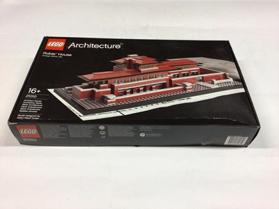 Lot 28 - Lego Architecture 21010 Robbie House, with instructions, Boxed