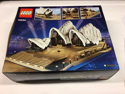 Lot 33 - Lego Buildings 10234 Sydney Opera House, with instructions, Boxed