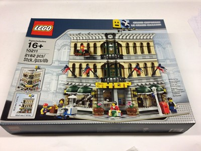 Lot 34 - Lego Buildings 10211 Grand Emporium, with instructions, Boxed