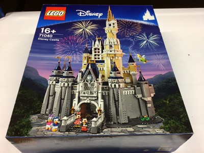 Lot 35 - Lego Buildings 71040 Disney Castle, with instructions, Boxed