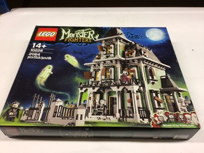 Lot 38 - Lego Building 10228 Haunted House, with instructions, Boxed