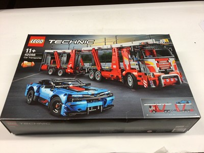 Lot 47 - Lego Technic 42098 Car Transporter with instructions, Boxed