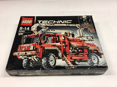Lot 50 - Lego Technic 8289 Fire Truck with instructions, Boxed