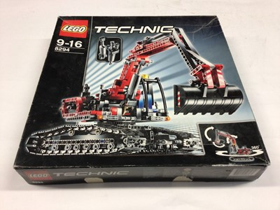 Lot 51 - Lego Technic 8294 Excavator with instructions, Boxed