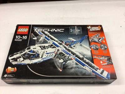 Lot 52 - Lego Technic 42025 Cargo Plane/Hovercraft with instructions, Boxed