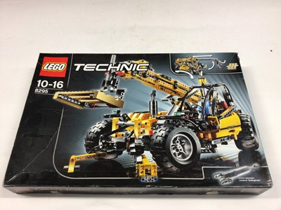 Lot 54 - Lego Technic 8295 Telescopic Loader, 42006 Excavator 2 in 1, 8446 Monster Crane Truck, all with instructions, Boxed