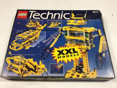 Lot 55 - Lego Technic 8299 Search Submarine, 8051 Motorbike, 8262 Quad Bike, 8277 Car Kit, all with instructions, boxed