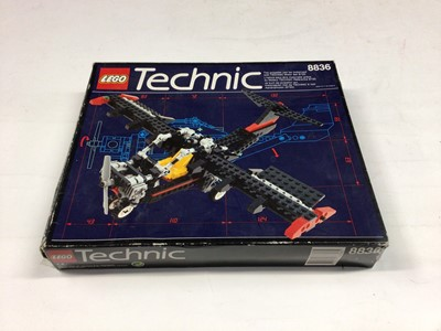 Lot 57 - Lego Technic 8412 Helicopter, 8836 Sky Ranger Aeroplane, 42002 Hovercraft, all with instructions, Boxed