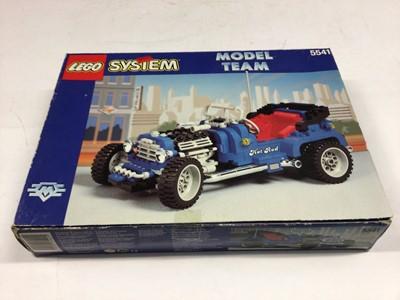 Lot 59 - Lego 5541 Model Team Car, 8473 Nitro Race Team, 8671 Ferrari Spider Car, all with instructions (copy for 5541), boxed