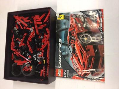 Lot 75 - Lego 8653 Ferrari Enzo with instructions, no box