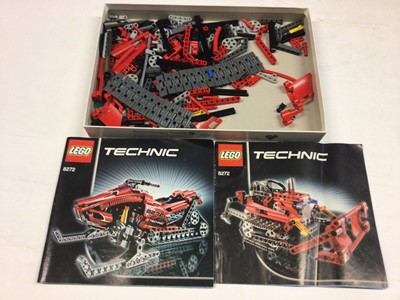 Lot 79 - Lego 8448 Super Street Car (incomplete) with instructions available on line, 8436 Race Truck, 4993 Convertible Cool Car, 8272 Snowmobile with instructions, no boxes