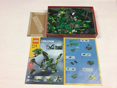 Lot 80 - Lego 4101 Wild Collection set, 2130 Birds (special limited edition) with instructions, 8456 Fibre Optic Multi with instructions available on line, no boxes