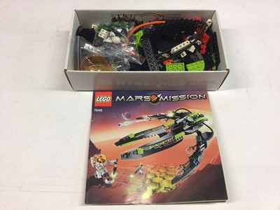 Lot 81 - Lego 10021 Constellation Ship, 8437 Future Car, 7067 Alien Conquest, 7646 Mars Mission Spaceship all with instructions, no boxes