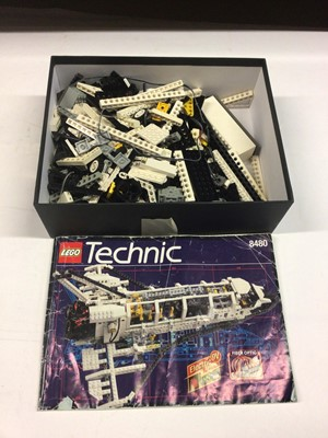 Lot 82 - Lego 8480 Space Shuttle with instructions, no box