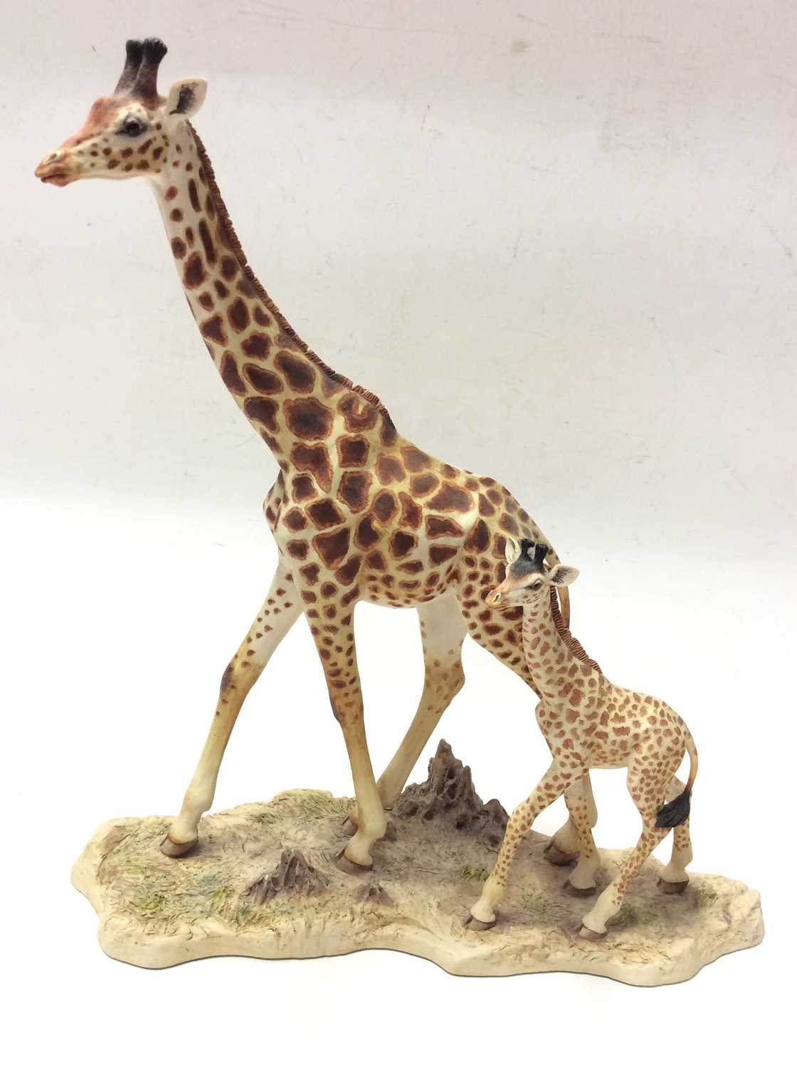 Lot 4 - Border Fine Arts limited edition model High Browsers, No. 262 of 850 by R T Roberts