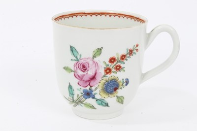 Lot 7 - Worcester coffee cup, c.1770