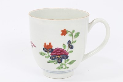Lot 8 - Worcester coffee cup, c.1770
