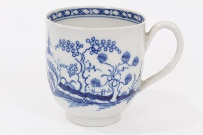 Lot 13 - Worcester coffee cup, c.1770