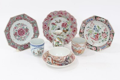 Lot 74 - 18th century Chinese famille rose porcelain