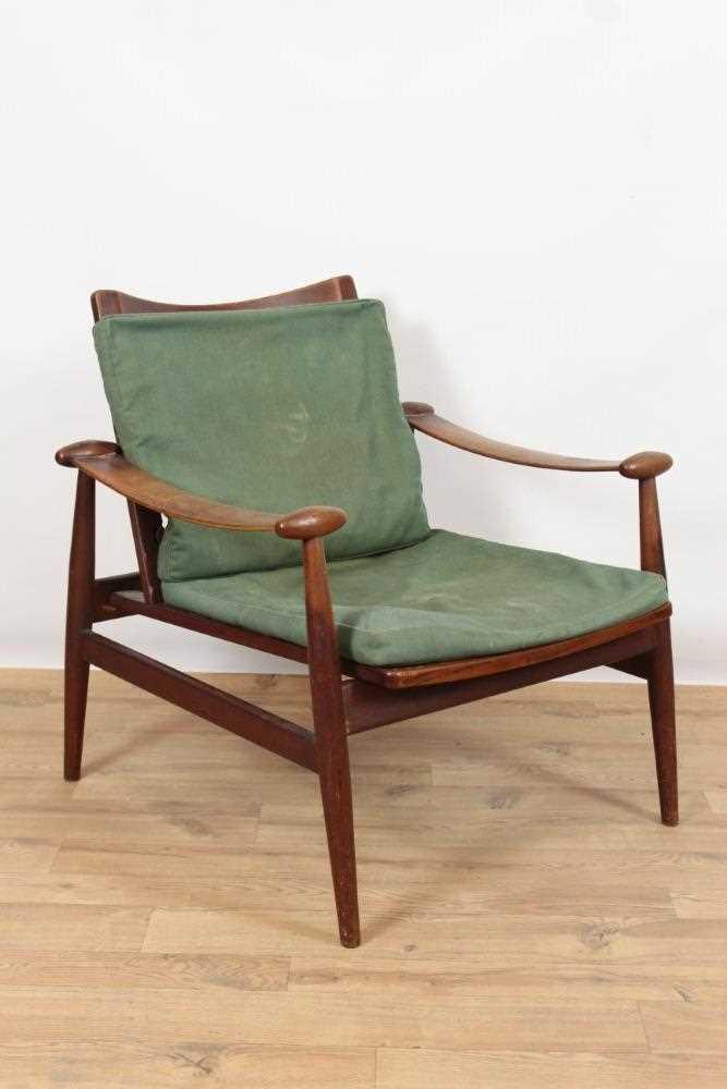 Lot 965 - Finn Juhl for France & Son, model FD-133 Spade Lounge Chair