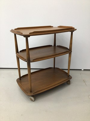 Lot 34 - Ercol three tier trolley
