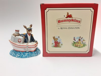 Lot 94 - Royal Doulton Bunnykins Ship Ahoy DB279 Limited Edition 539 of 2000, boxed