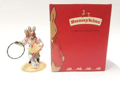 Lot 128 - Royal Doulton Bunnykins Event 2005 Tino the Trixstar DB333, boxed