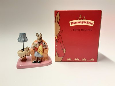Lot 124 - Royal Doulton Bunnykins Mrs Collector DB335 Limited Edition 99/2500, boxed