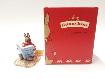 Lot 127 - Royal Doulton Bunnykins Collectors Club William Reading Without Tears DB401, boxed