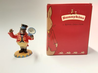 Lot 126 - Royal Doulton Bunnykins of the Year 2005 Randolph the Ringmaster DB330, boxed