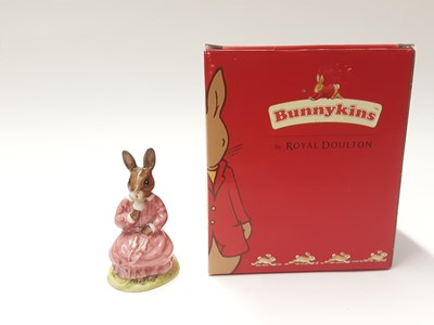 Lot 129 - Royal Doulton Bunnykins Polly DB71, boxed