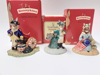 Lot 125 - Royal Doulton Bunnykins American Heritage Collection George Washington DB367 Limited Edition 700/2000, boxed