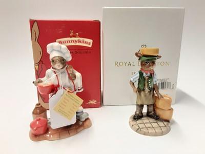 Lot 116 - Royal Doulton Bunnykins Collectors Club Kiln Placer DB405 Limited Edition 222/500, boxed