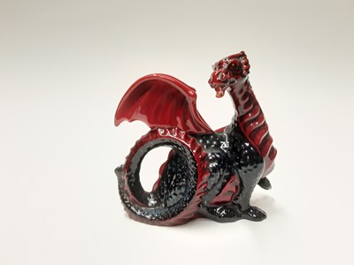 Lot 16 - Royal Doulton Flambé Dragon HN3552