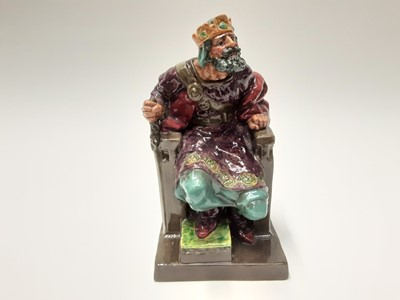 Lot 18 - Royal Doulton figure - The Old King HN2134
