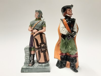 Lot 29 - Two Royal Doulton figures - The Centurion HN2726 and Cavalier HN2716