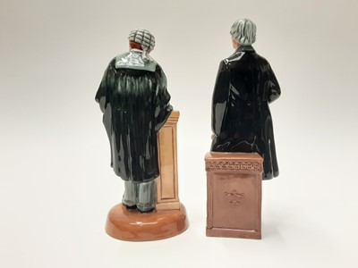 Lot 33 - Two Royal Doulton figures - The Lawyer HN3041 and Statesman HN2859