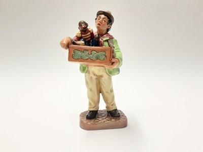 Lot 38 - Royal Doulton figure - Organ Grinder HN2173
