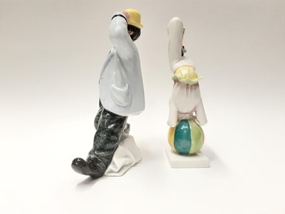Lot 59 - Two Royal Doulton figures - Slapdash HN2277 and Tumbling HN3283