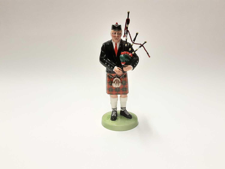 Lot 75 - Royal Doulton figure - The Piper HN3444