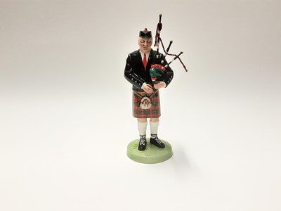 Lot 75 - Royal Doulton figure - The Piper HN3444