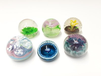 Lot 177 - Six various Caithness Glass Paperweights (6)
