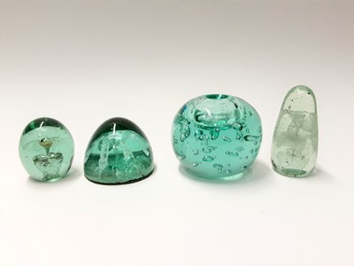 Lot 179 - Four various Victorian Glass Paperweights (4)